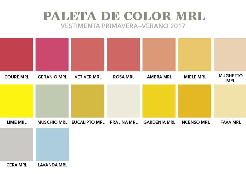 Tintes a la moda - Colores moda primavera verano 2017 ...